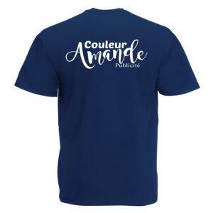 logo sur t-shirt homme