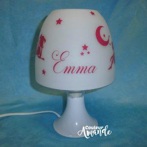 lampe de chevet fées