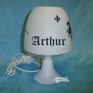 lampe de chevet chevaliers